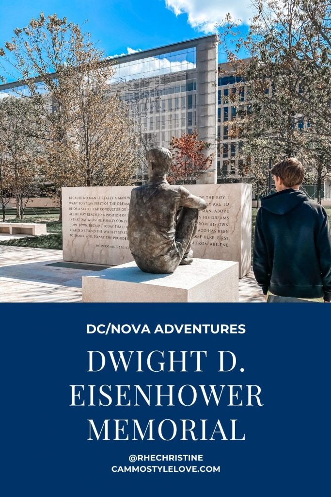 Eisenhower Memorial Pinterest
